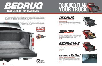 to open the bedrug brochure - Truck Accessory Information Center