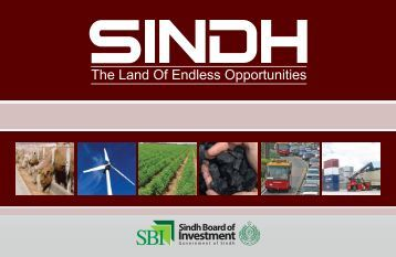 sindh investment project - Sindh Board Of Investment, Government ...