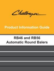 challenger rb46 and rb56 automatic round balers - Kelly Tractor