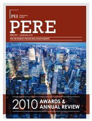 2010AWARDS & AnnuAL REVIEW - PERE