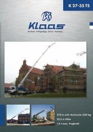 K27-35 TS Prospekt - Klaas.com