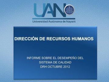 Octubre 2012 - sistema administrativo de calidad