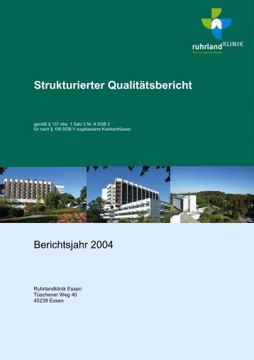 KTQ- Kriterienkatalog - Ruhrlandklinik