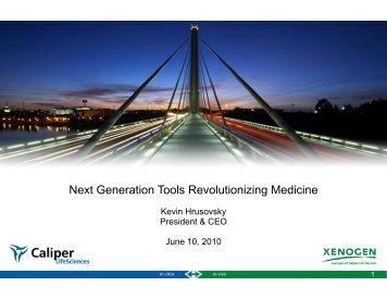 Next Generation Tools Revolutionizing Medicine - PerkinElmer