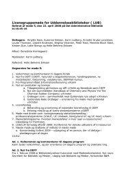 Referat af møde nr 5 - DEFF