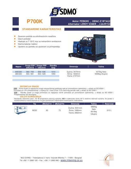 Motor P E R K IN S , 280 6 C-E 1 8T A G 2 Alternator ... - MLS | EXING