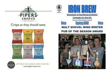 malt shovel wins winter pub of the season - Scunthorpe & District ...