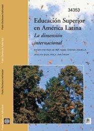 Educación Superior en América Latina La dimensión ... - World Bank