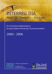 Informationsfolder des Landes Steiermark - Raumplanung Steiermark