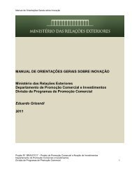 Manual de Orientações Gerais sobre Inovação - BrasilGlobalNet