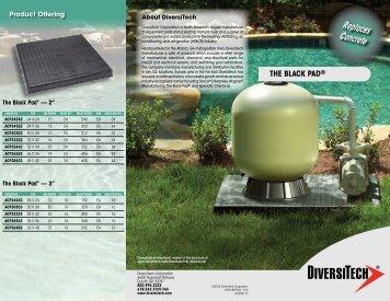 the black pad - media - DiversiTech