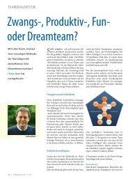 Magazin Training Oktober 2010 (PDF). - PentaDesign