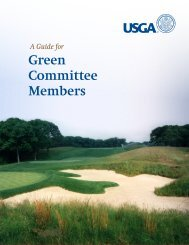 A Guide for Green Committee Members - USGA