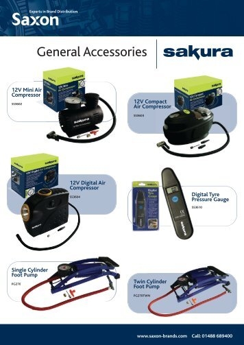 General Accessories - Saxon Brands