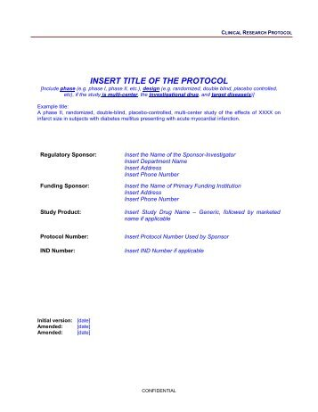 sample policy/procedure template investigational device ... - Research