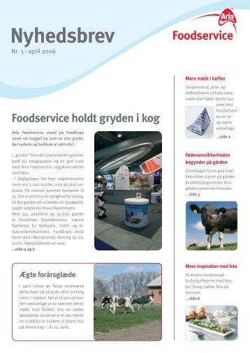 April 2006 - Arla Foodservice