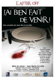 J'AI BIEN FAIT DE VENIR - Accueil