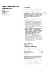 Hotel and Restaurant Management - Northern Arizona University