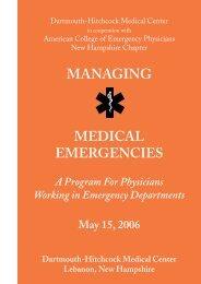 brochure PDF - Health Care Professionals - Dartmouth-Hitchcock
