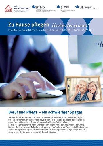 Pflegeinfobrief Winter 2012/2013 - Unfallkasse Freie Hansestadt ...