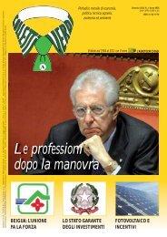 Colletti Verdi gennaio 12 - Collegio Nazionale degli Agrotecnici