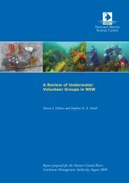 A Review of Underwater Volunteer Groups in NSW - Hunter-Central ...
