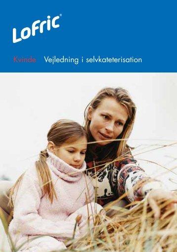Kvinde Vejledning i selvkateterisation - Astra Tech