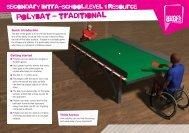 polybat - traditional - School Games