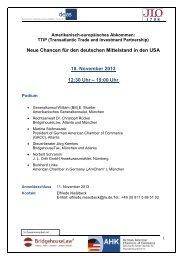 Neue Chancen für den deutschen Mittelstand in ... - Bridgehouse Law