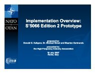 Implementation Overview: p S'5066 Edition 2 Prototype