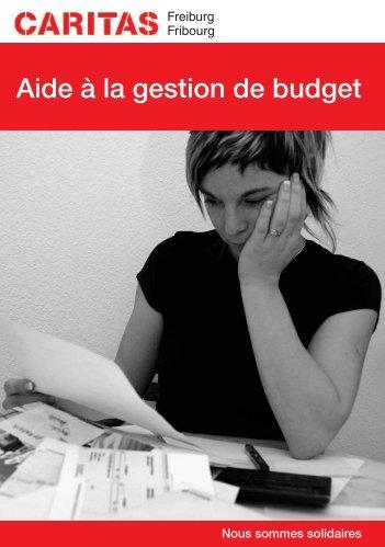 Flyer aide à la gestion de budget - Caritas Fribourg