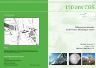 150 ans CGS - Swiss Institute Of Navigation :: ION-CH
