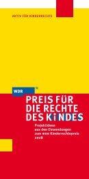 Projektideen aus den Einsendungen zum wdr Kinderrechtepreis 2008