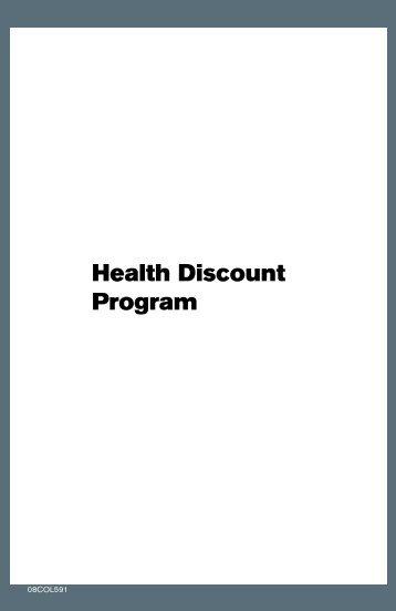 Health Discount Program