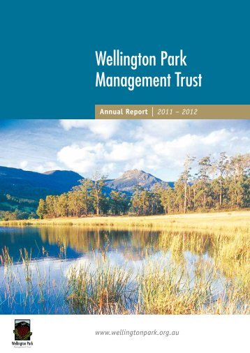 Annual Report 2011-12 - Wellington Park