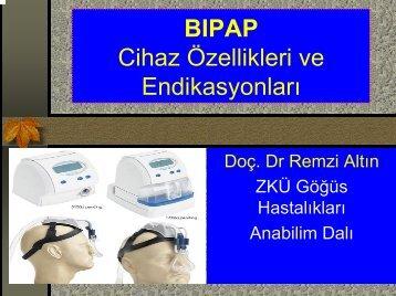BIPAP Cihaz Özellikleri ve Endikasyonları
