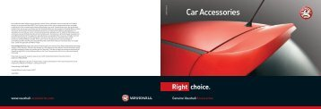 T13507 Car Accessories.indd - Pentagon Vauxhall