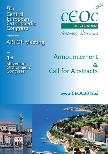 Announcement & Call for Abstracts