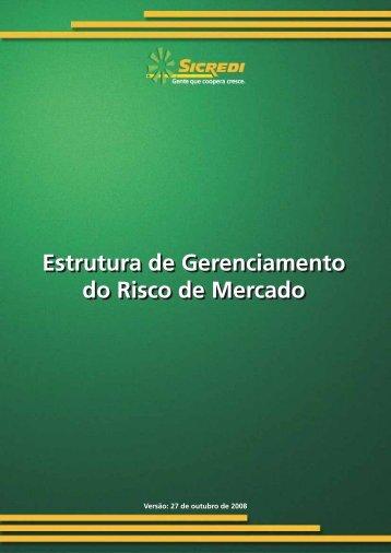 Estrutura de Gerenciamento de Risco de Mercado - Sicredi