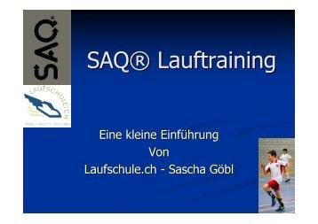 SAQ® Lauftraining - FC Wallisellen Homepage