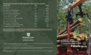 Panola - College of Forest Resources - Mississippi State University