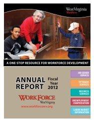 AnnuAl RepORt - West Virginia Department of Commerce