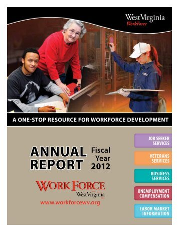 AnnuAl RepORt - West Virginia Department of Commerce