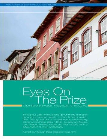 Surveillance Project Focuses on Latin America Cities (PDF - Pelco
