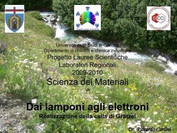 Diapositiva 1 - Dipartimento di Fisica - Università degli Studi di ...