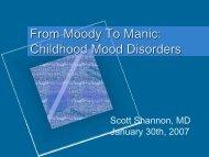 From Moody To Manic: Teenage Mood Disorders