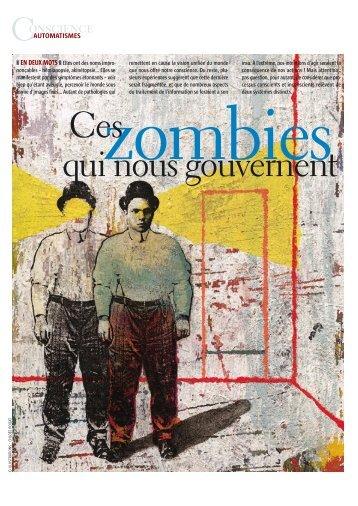 p36a40 Zombie - Cognitive Science Research Unit - Université ...