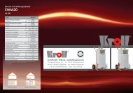 Electric hot water generator 20 kW - Kroll GmbH