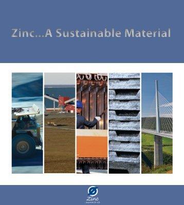 Zinc...A Sustainable Material - International Zinc Association