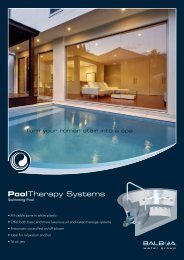 PoolTherapy Systems - Balboa Water Group